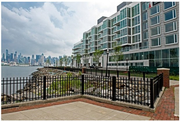 Lennar's Avenue Collection in Weehawken, N.J., a five-building luxury condo community. Ron Wyatt