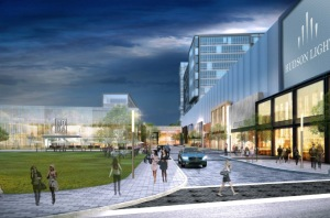 Hudson Lights will feature 478 rental units along with a hotel. Photo: Tucker Development Corporation