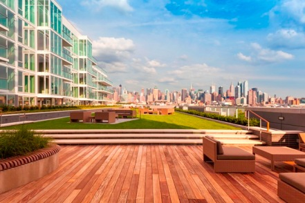 1000 Avenue at Port Imperial Landscaped Terrace