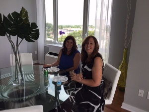 Fabiola Jurisic and Ivana Pestic from Edgewater-based Royal Signature Realty.
