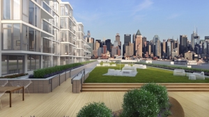 Hudson River and New York City views stand out at 1000 Avenue, a collection of 74 luxury condominiums.
